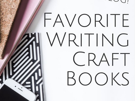 My Favorite Writing Craft Books