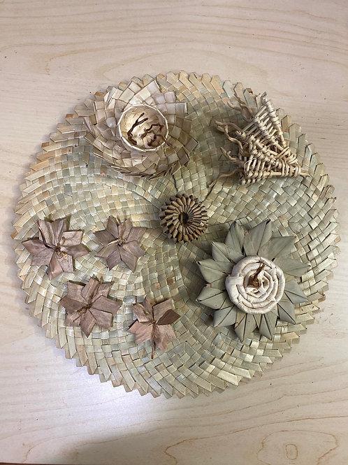 Palm Mat - Botanical Theme