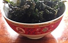Homemade Kale Chips
