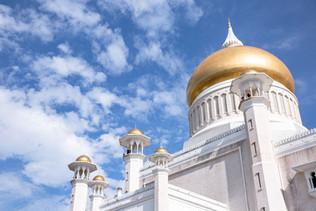 Mosque Darussalam à Brunei