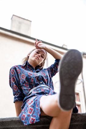 Parisian Model - fashion photo shoot