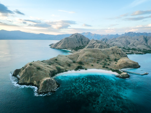 Komodo Islands drone photography