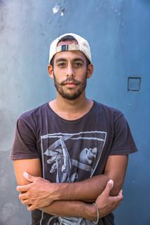 Man portrait photo shoot