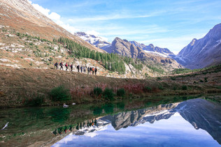 Randonnée à Zermatt, Suisse