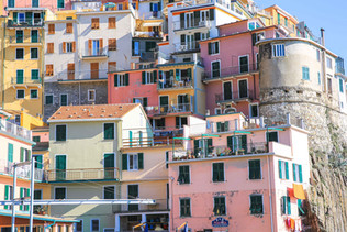 The five villages of Cinque Terre in Italy