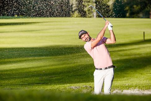 Golf de la Bretesche et son coach sportif