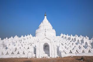 Hsinbyume Pagoda in Burma