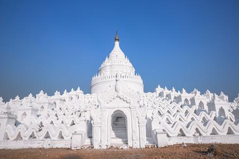 La Pagode Hsinbyume en Birmanie