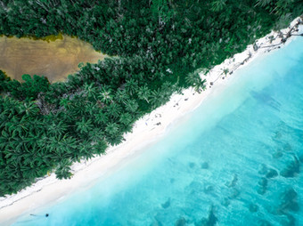 Aerial photography of the Mentawai Islands