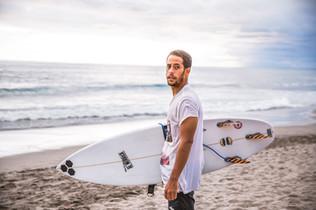 Surfer à Bali
