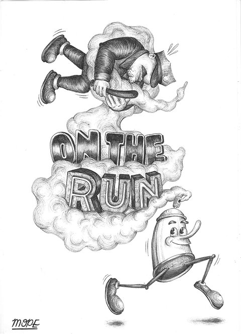 On the Run Print