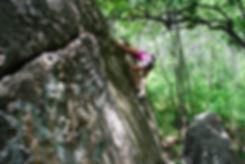 Katie Berg - Avery's Boulder Traverse
