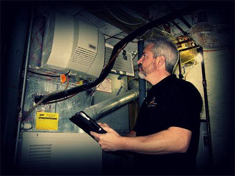 Checking Furnace Unit
