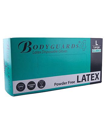 GANTS EN LATEX BODYGUARD 4