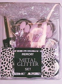 METAL GLITTER SET GEL MIROIR