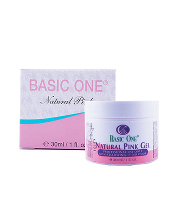 BASIC ONE NATURAL PINK GEL 1oz REF COT292