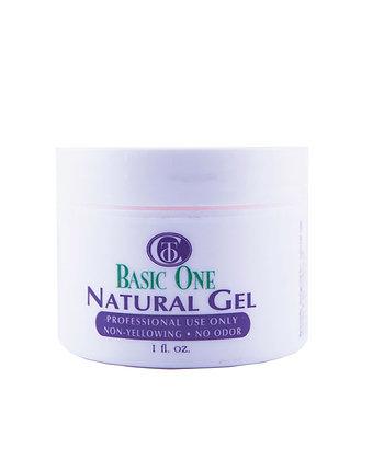 BASIC ONE NATURAL GEL 1-2 oz REF COT294