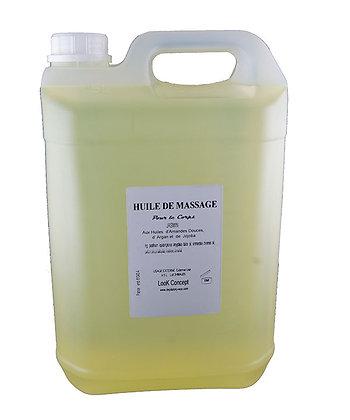 Huile de massage corps Jasmin 1 gallon