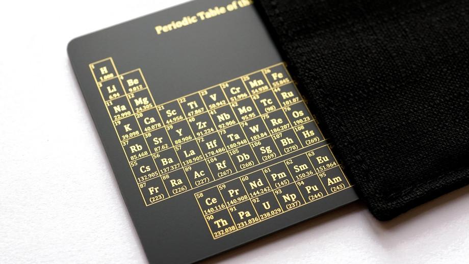 The Chemistry Card 2.0