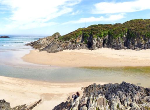 A Mariña azul ¡y verde!. Las mejores playas de Asturias y Galicia.