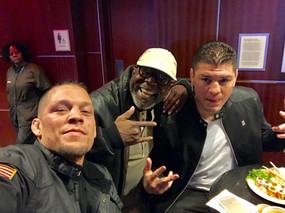 Nick & Nate Diaz and Burt Watson
