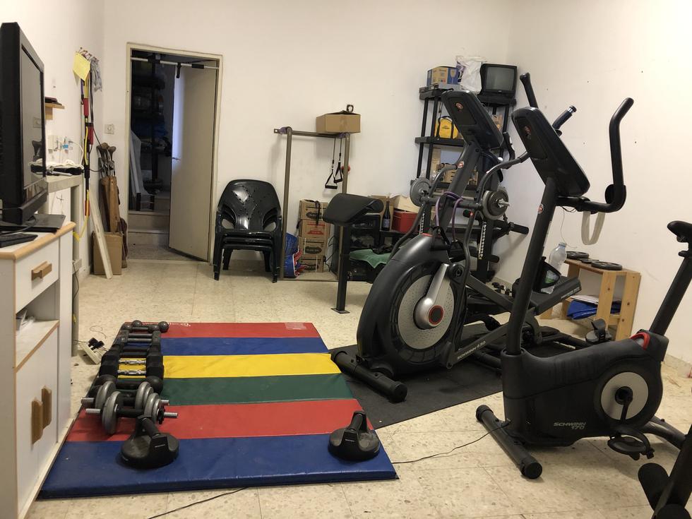 Large finished basement, + second semi-finished storage