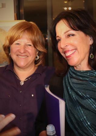 Riva Schertzman and Adina