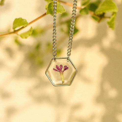 Colar geométrico - Flor de Érica