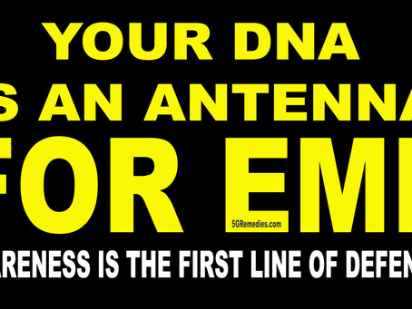 YOUR DNA IS DESIGNED TO BE AT RISK FROM EMF RADIATION AND 5G - and I'll tell you why.