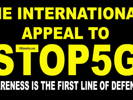 The International Appeal to STOP 5G