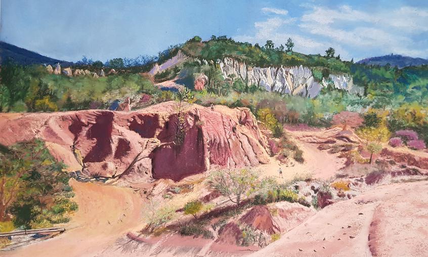 Le Colorado Provencal pastel 62x44.jpg