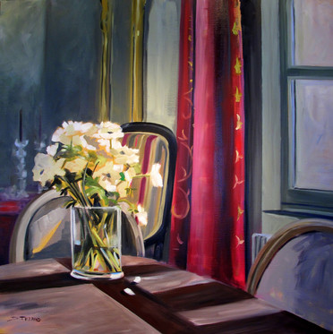 Bouquet d'Anémones au soleil