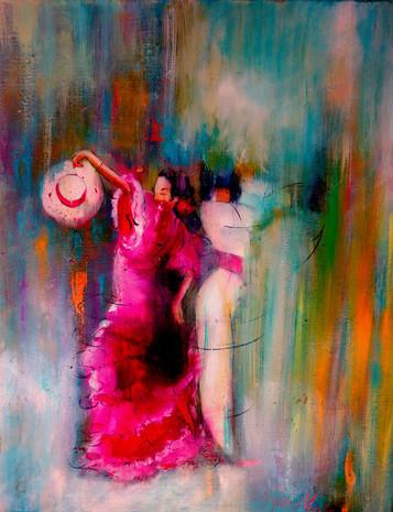 Felicidad en el flamenco