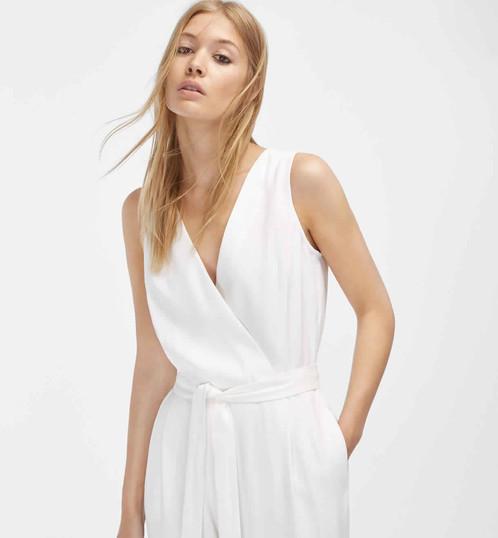 massimo dutti white jumpsuit dandelion. Black Bedroom Furniture Sets. Home Design Ideas