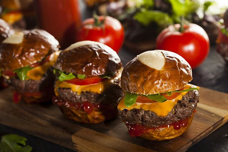 bigstock-Homemade-Cheeseburger-Sliders-6
