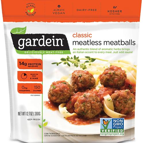 Vegan - Meatless Meatballs x 96