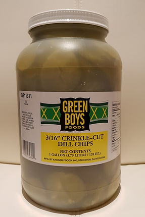 Green Boys Foods Dill Chips