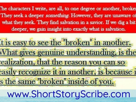 "Why I Write Of ""The Damaged and Broken"""