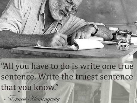 What Is One True Sentence?