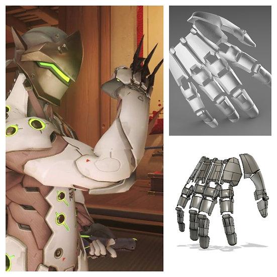 Genji Robotic hand STL