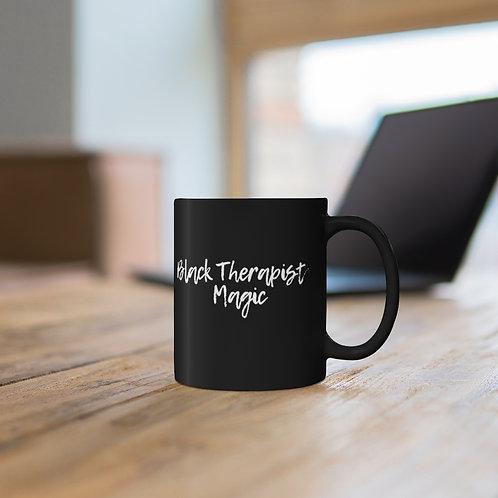 Black Therapist Magic Mug
