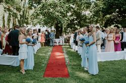 Hochzeitsentourage