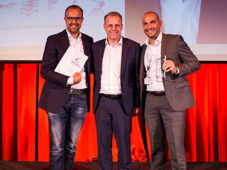 Unser Partner, die nextLAP GmbH gewinnt den von der Initiative Deutschland Digital erstmalig verlieh