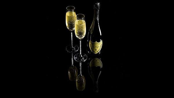 Dom Perignon Champagner Gläser