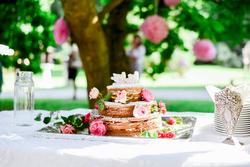 Schlosspark Gedeckter Tisch