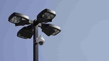 Sicherheitsdienst Lampe