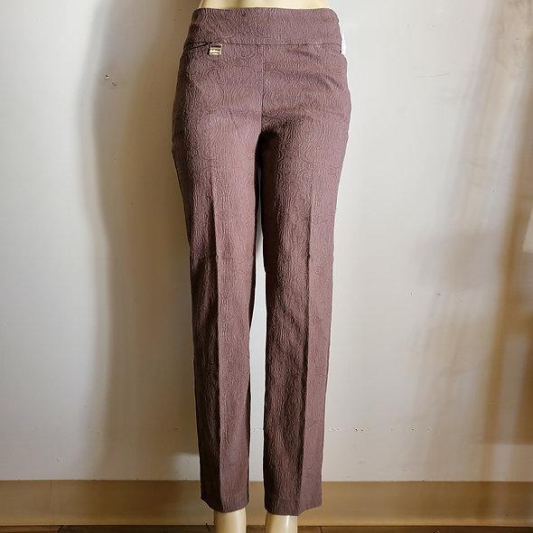 Lulu B Chocolate Damask Pants