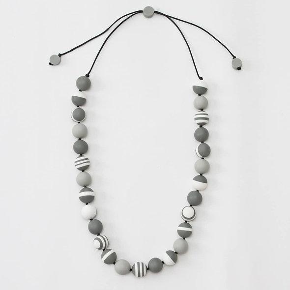 Grey Leora Necklace