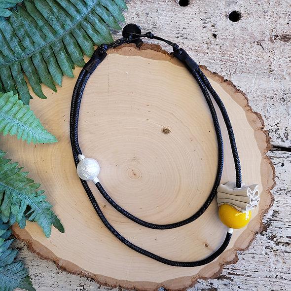 Alisha D. Minimalist Yellow Necklace