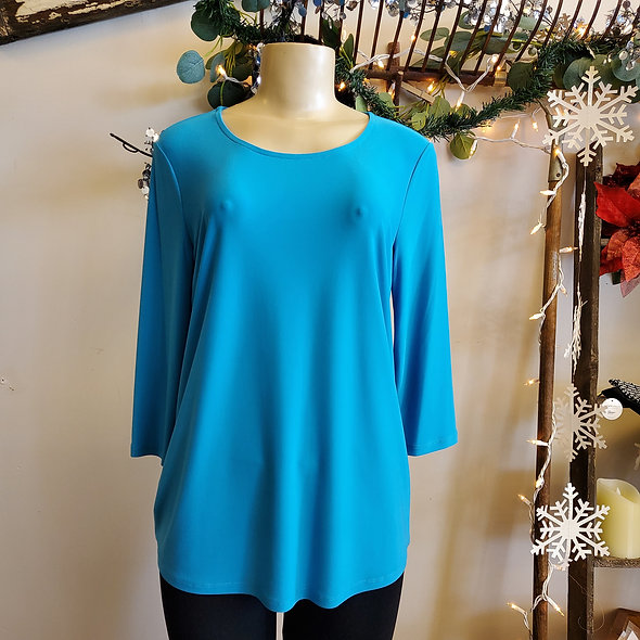 By JJ Lightweight Turquoise Top